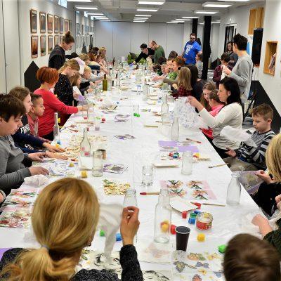 Pokonkursowa impreza artystyczna dla klas 0-3 ze Szkoły Podstawowej im. Króla Kazimierza Wielkiego w Niepołomicach