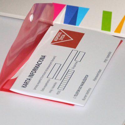 """Gminna Rada Seniorów i projekt """"Koperty Życia""""."""
