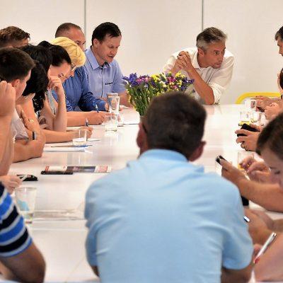 Delegacja Samorządowców z Ukrainy