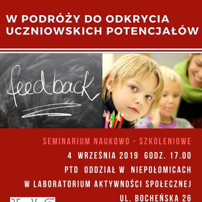 Seminarium naukowo –szkoleniowe  Polskiego Towarzystwa Dysleksji