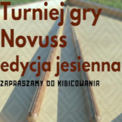 Turniej gry Novuss – edycja jesienna
