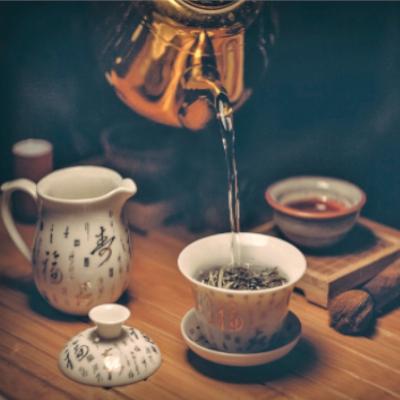 GONG FU CHA-ceremoniał parzenia herbaty i tworzenie ocieplaczy na kubki
