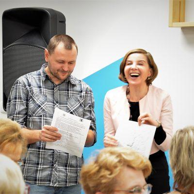 """""""Lekcja długowieczności"""" odc. IV projektu """"Na Seniora nie ma mocnych""""."""