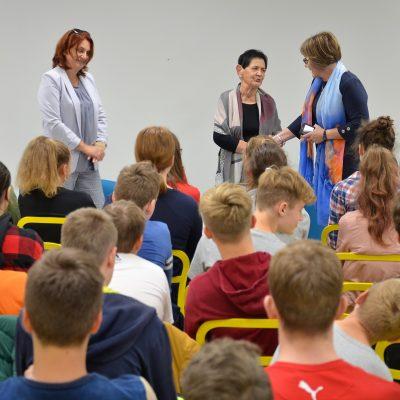 """Spotkanie z panią Zofią Dzierzbińską w ramach projektu """"Szkoła Współpracy"""""""