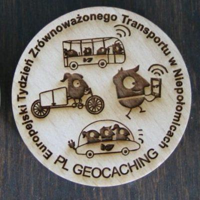 Geocaching – spotkanie w ramach Europejskiego Tygodnia Zrównoważonego Transportu