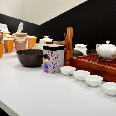 Ceremoniał parzenia herbaty GONG FU CHA z tworzeniem ocieplaczy na kubki