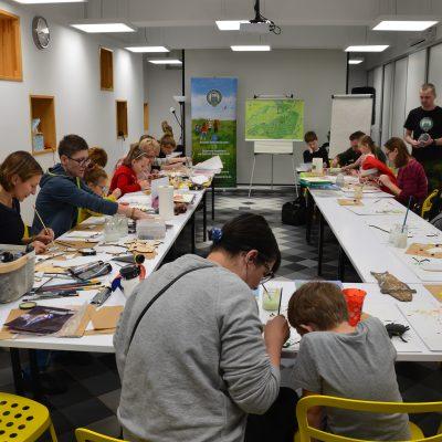 Rysowanie i malowanie z Zielonym Puszczykiem
