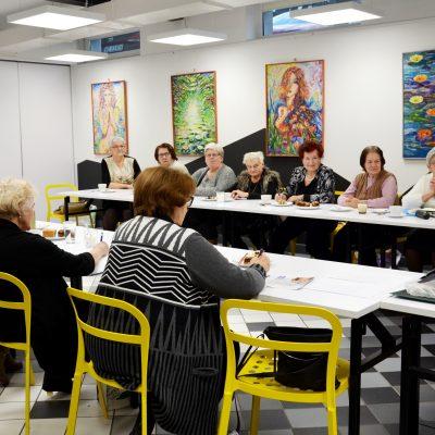 Świąteczne spotkanie członków Sekcji Emerytów i Rencistów Związku Nauczycielstwa Polskiego
