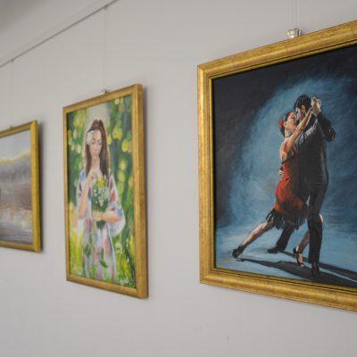 """Wystawa  GRUPY TWÓRCZEJ """"W WOLNEJ CHWILI"""""""