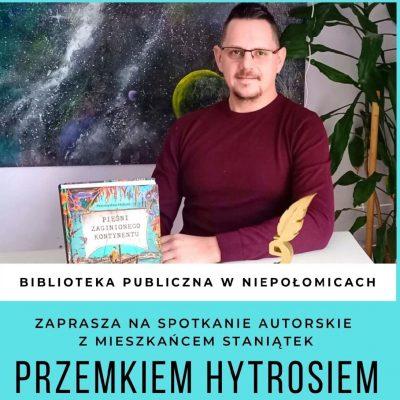Spotkanie autorskie z Przemkiem Hytrosiem